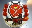 相澤様ご予約のイラストデコレーションケーキ。かずき君お誕生日おめでとうございます。